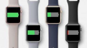 battery life smartwatch